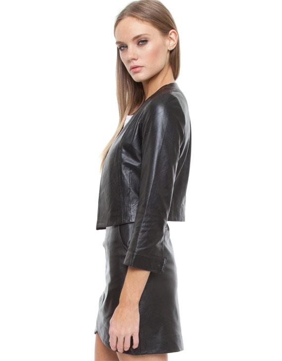 Find Black Faux Leather Jackets for Women, Brown Faux Leather Jackets for Women and more at Macy's. Add a little edge to every outfit with faux leather jackets for women. Be on-trend in cropped jackets or stay versatile in black faux leather jackets. Find jackets, coats and other outerwear at .